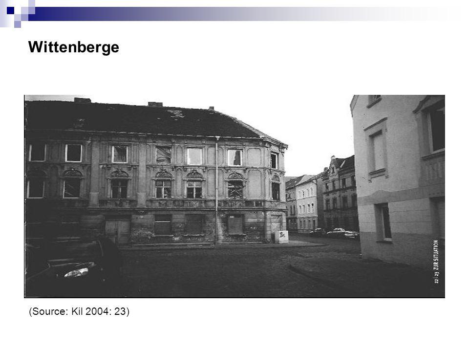 Wittenberge (Source: Kil 2004: 23)