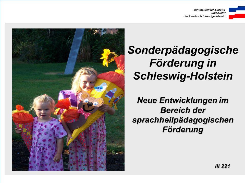 Ministerium für Bildung und Kultur des Landes Schleswig-Holstein Vielen Dank ! III 311