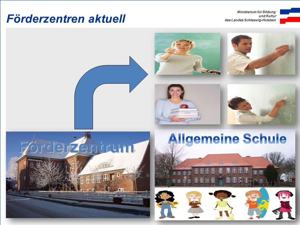 Ministerium für Bildung und Kultur des Landes Schleswig-Holstein Förderzentren aktuell Förderzentrum