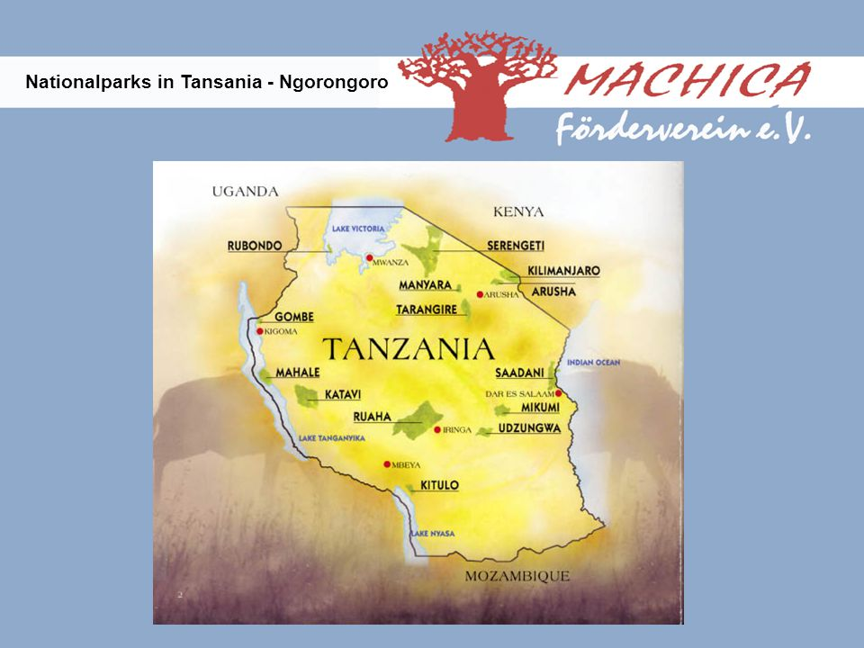 Nationalparks in Tansania - Ngorongoro