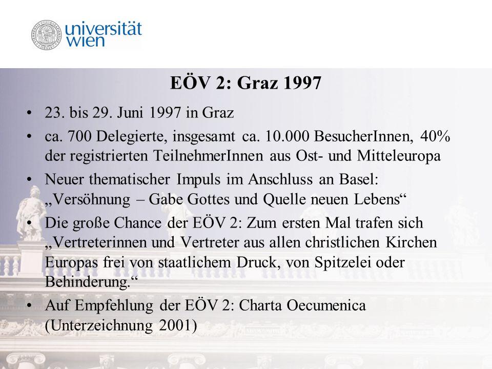 EÖV 2: Graz 1997 23. bis 29. Juni 1997 in Graz ca.