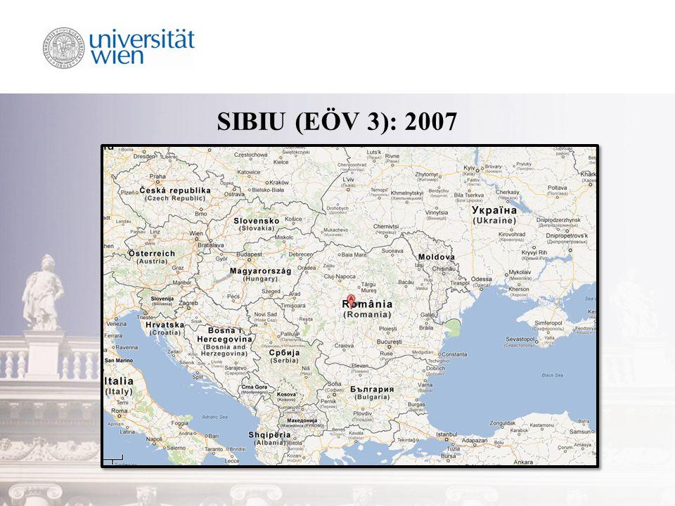 SIBIU (EÖV 3): 2007