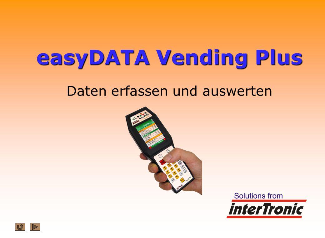 easyDATA Vending Plus easyDATA Vending Plus Daten erfassen und auswerten