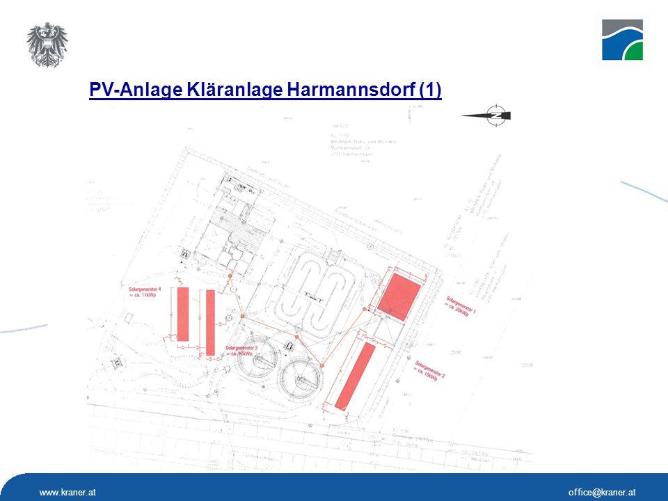 www.kraner.atoffice@kraner.at PV-Anlage Kläranlage Harmannsdorf (1)