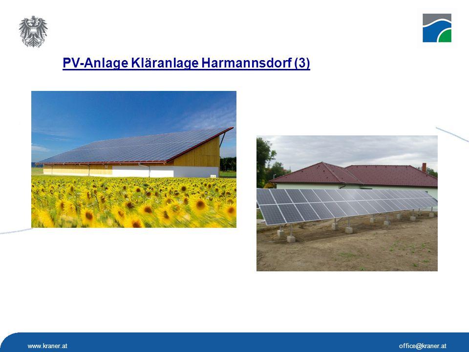 www.kraner.atoffice@kraner.at PV-Anlage Kläranlage Harmannsdorf (3)