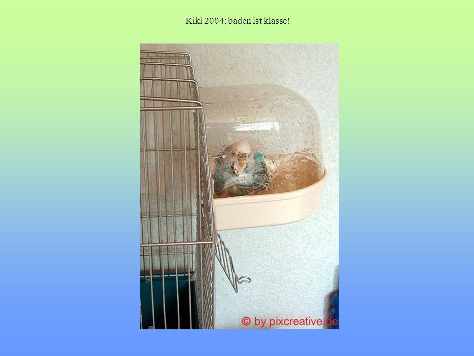 Kiki 2004; baden ist klasse!