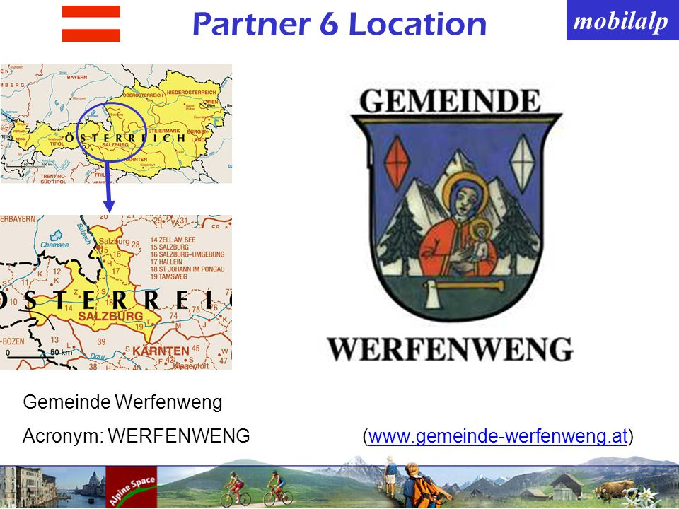 mobilalp Partner 6 Location Gemeinde Werfenweng Acronym: WERFENWENG(www.gemeinde-werfenweng.at)