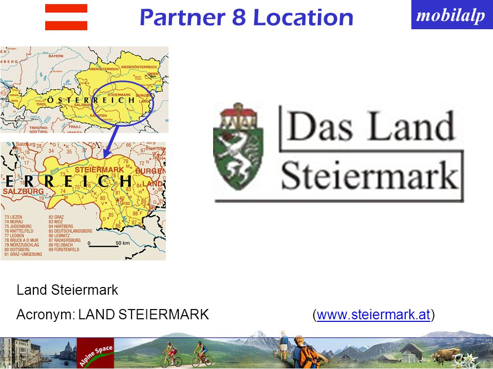 mobilalp Partner 8 Location Land Steiermark Acronym: LAND STEIERMARK(www.steiermark.at)