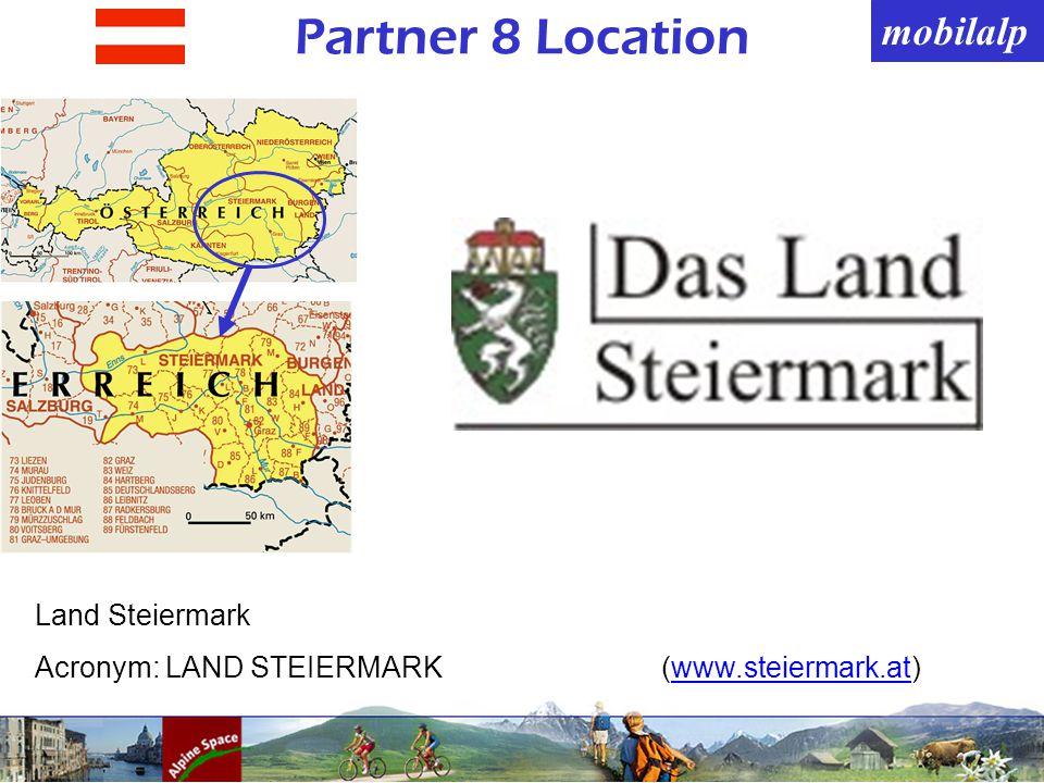 mobilalp Partner 8 Location Land Steiermark Acronym: LAND STEIERMARK(www.steiermark.at)