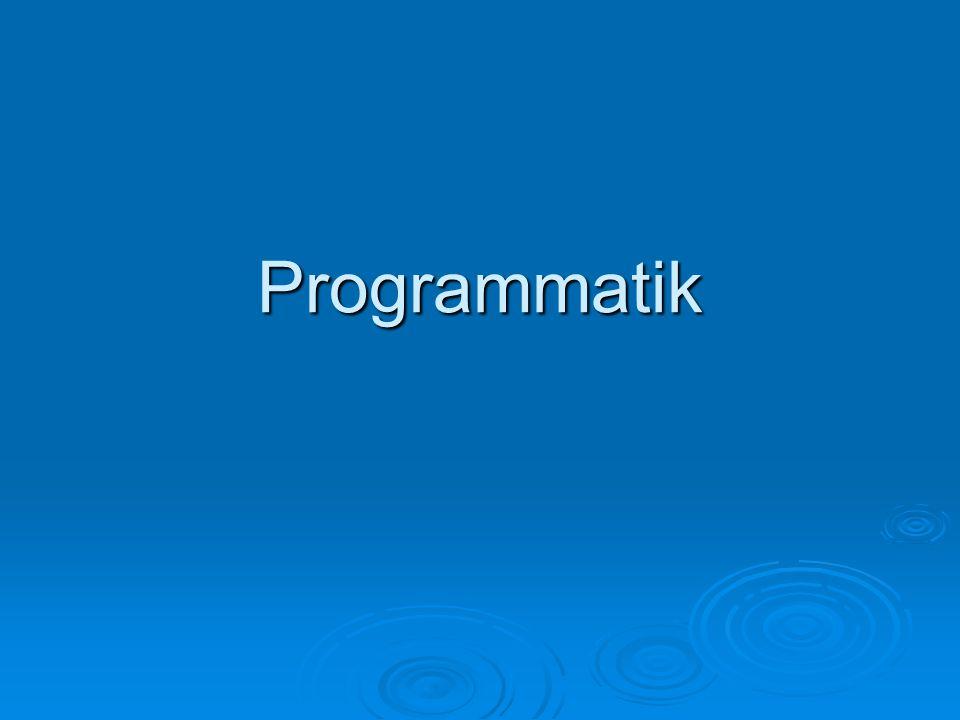 Programmatik