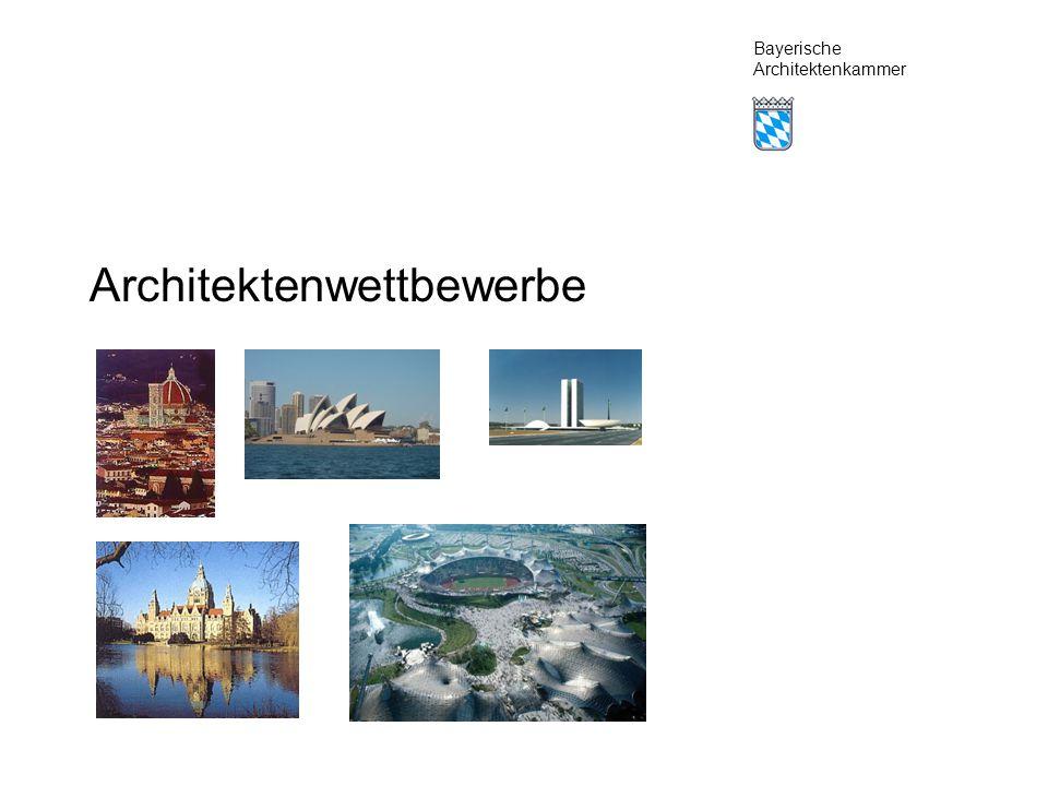 Bayerische Architektenkammer Architektenwettbewerbe