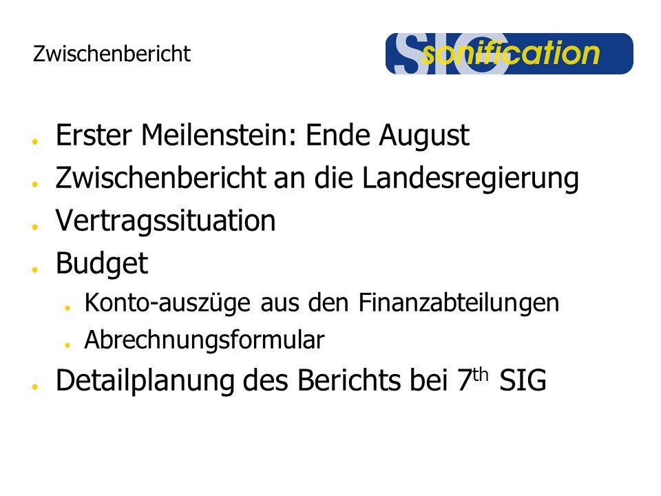 Public Sound Installation Was: PR / Leistungsschau Wer: Rektoren, Politik, Presse Wann: 14.