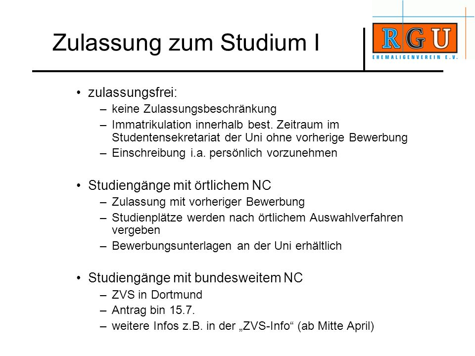 Internet www.rgu-ehemaligenverein.de