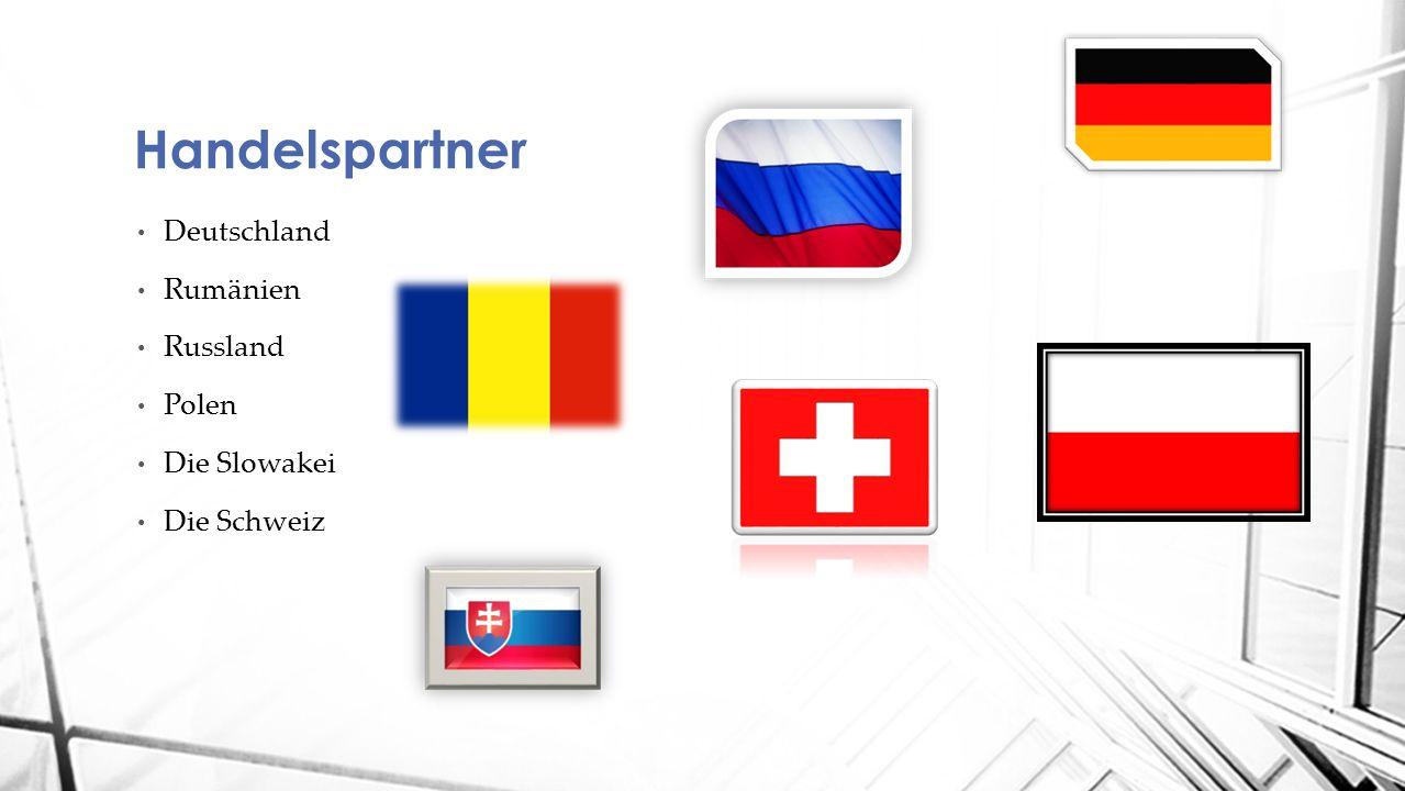Deutschland Rumänien Russland Polen Die Slowakei Die Schweiz Handelspartner