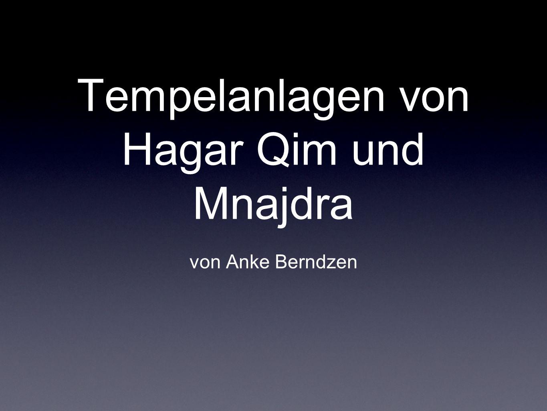 Tempelanlagen von Hagar Qim und Mnajdra von Anke Berndzen