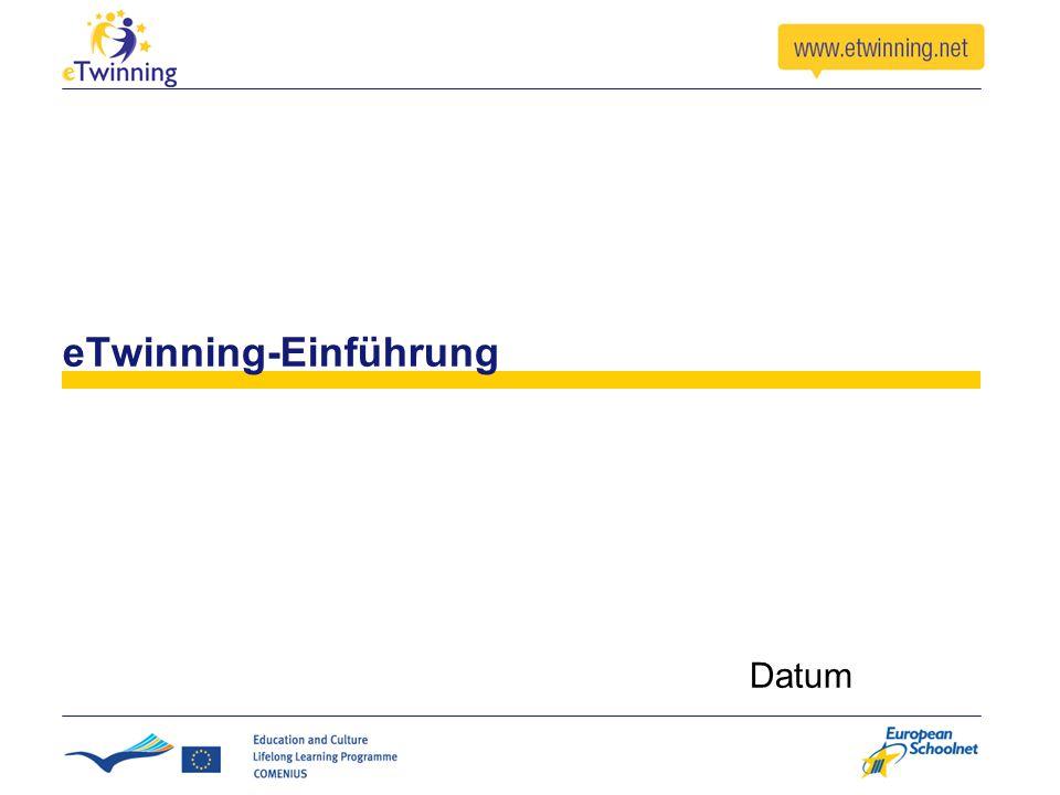 eTwinning-Einführung Datum
