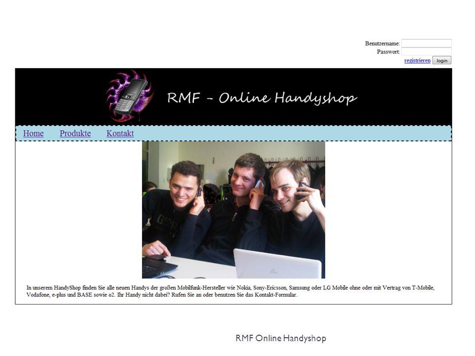 RMF Online Handyshop