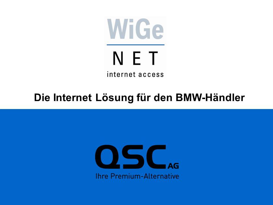 Die Internet Lösung für den BMW-Händler