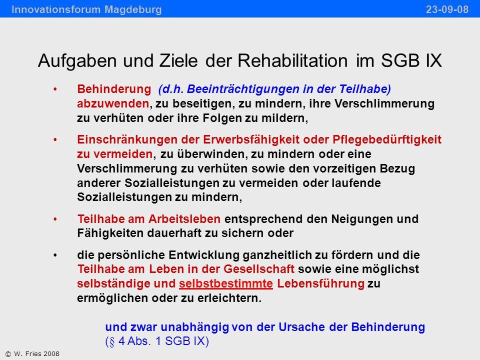 Rehabilitative Versorgung im Verlauf nach erworbener Hirnschädigung © W.