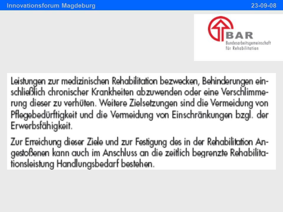 © W.Fries 2008 Nachsorge: An welcher Stelle und wie therapieren.
