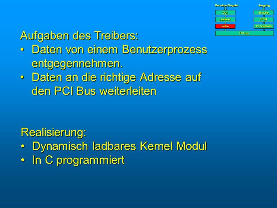 1 Bit PCI interface ist im OR3TP12 eingebettet.PCI interface ist im OR3TP12 eingebettet.