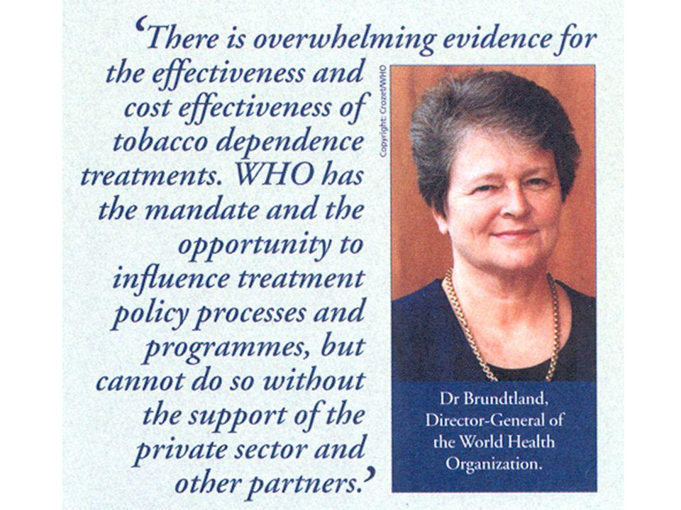 Patientenpotential ~10000 Aerzte / 1700000 Raucher 170 Raucher pro Arzt 600000 wollen aufhören 60 pro Jahr pro Arzt BAG 1991, frei von Tabak: Praxis mit 650 Pat.