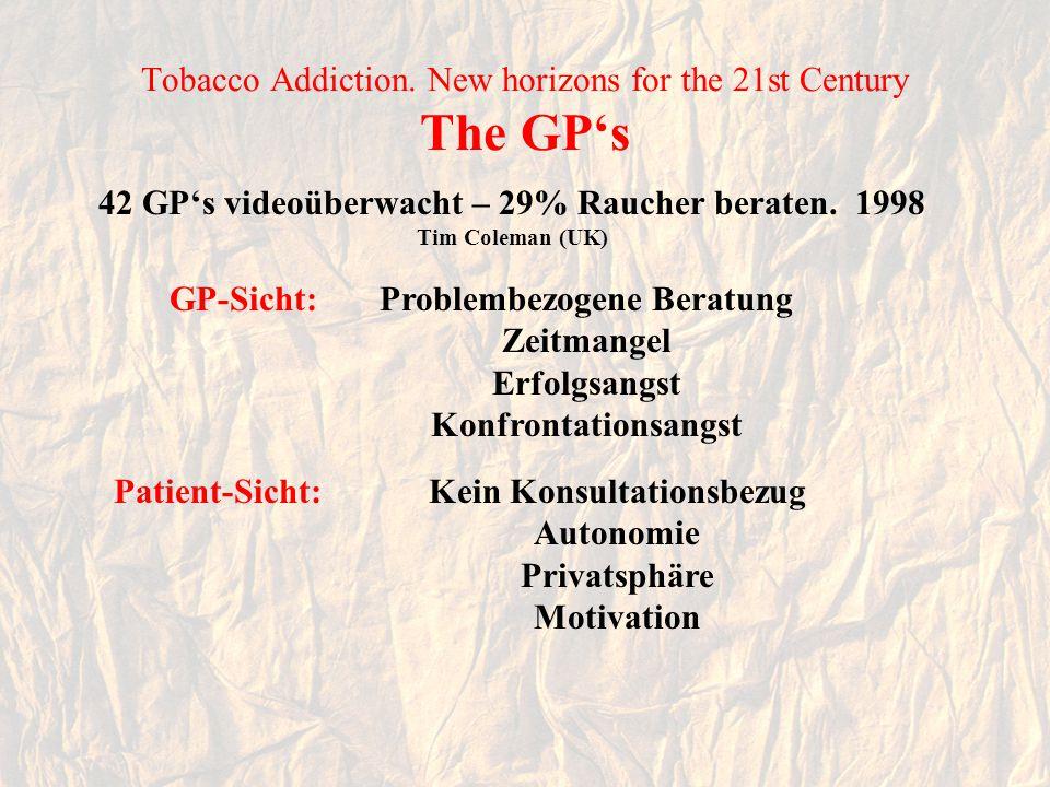 Tobacco Addiction.