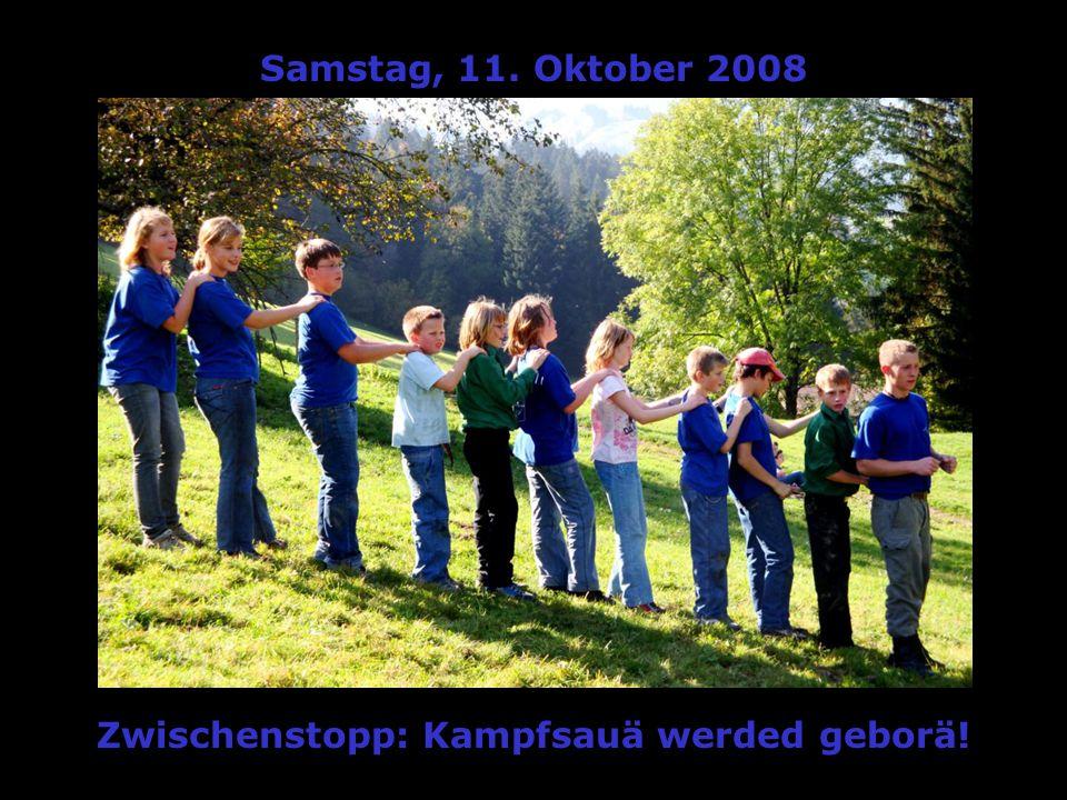 Samstag, 11. Oktober 2008 Aakunft in der KASERNÄ:AAAAAAchtung!