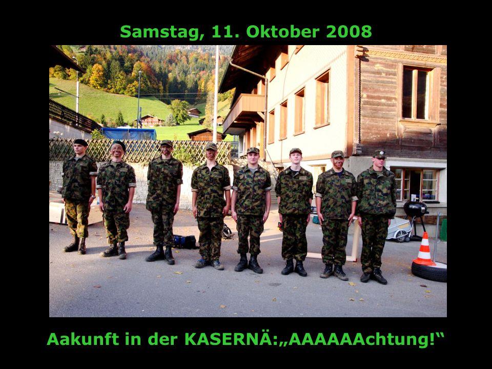 Mittwoch, 15. Oktober 2008 Kneippä gägä dChrampfoderä