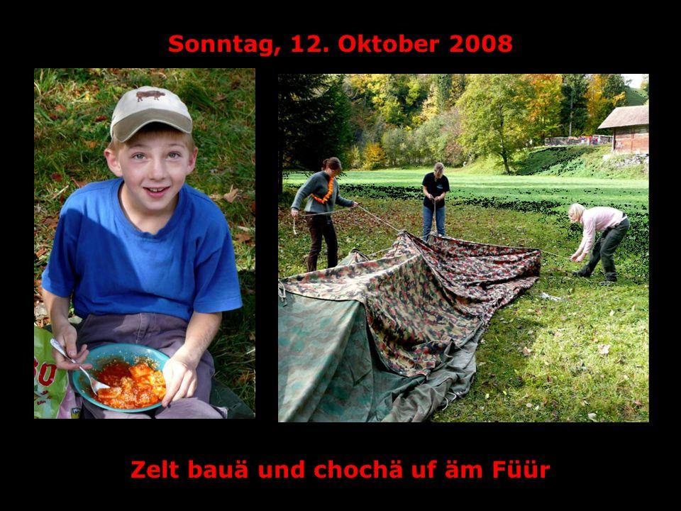 Sonntag, 12. Oktober 2008 Wer bastlät die kreativscht Lagerkassä?