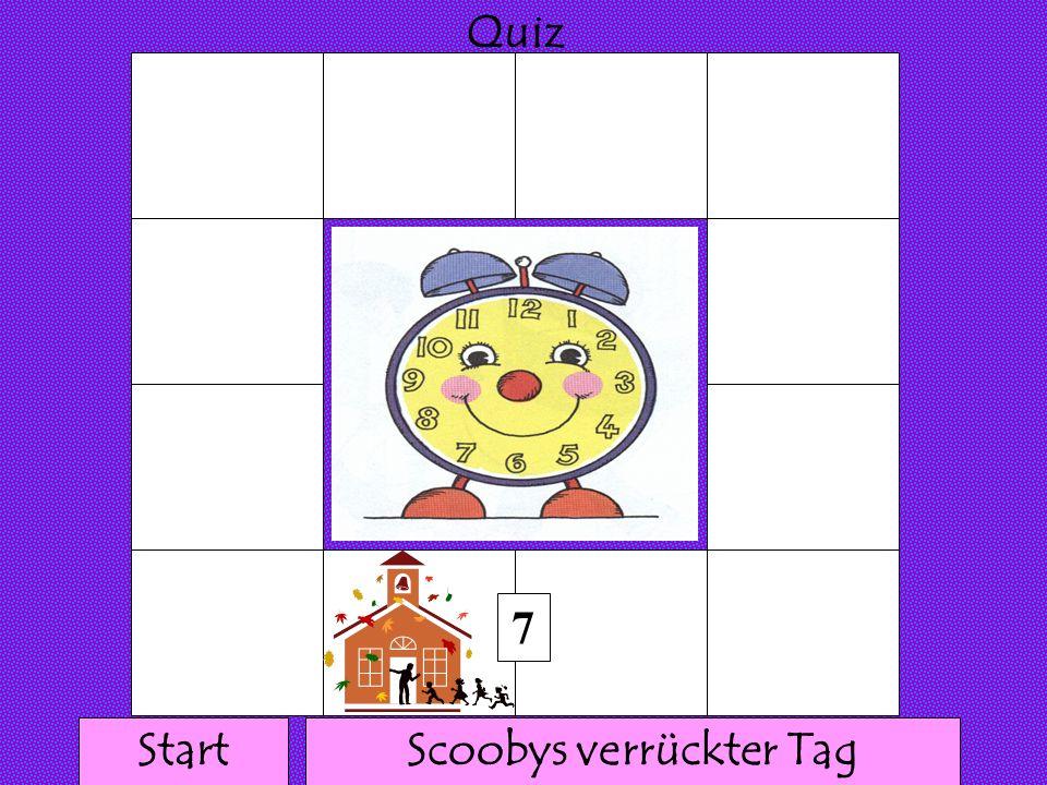 111 1 1 1111 1 1 1 Quiz 6 Scoobys verrückter TagStart