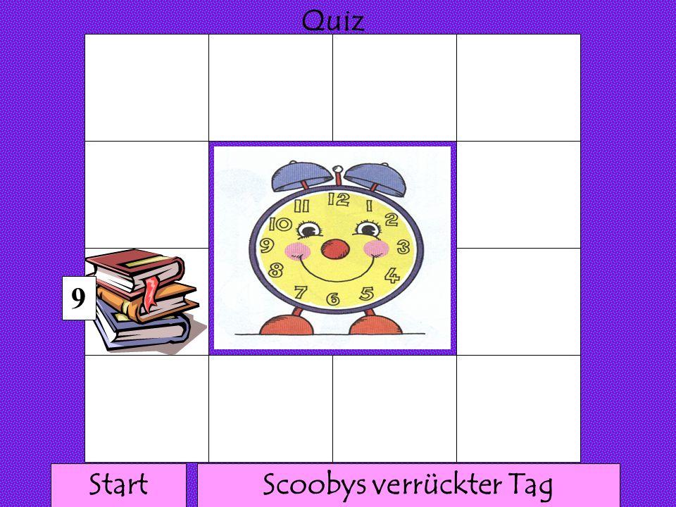 111 1 1 1111 1 1 1 Quiz 8 Scoobys verrückter TagStart