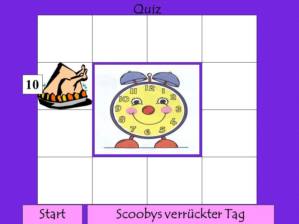111 1 1 1111 1 1 1 Quiz 9 Scoobys verrückter TagStart