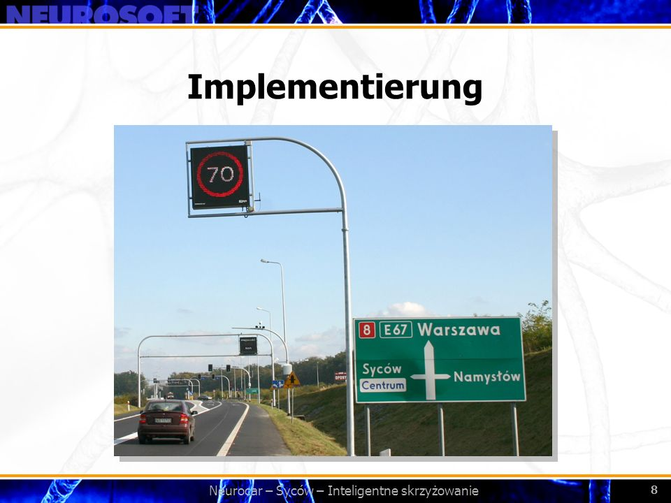 Bezpieczeństwo ruchu drogowego i porządku publicznego – Neurocar 19 Neurocar 2.0 – Terminal Autonomer Messpunkt mit VPN Zugang