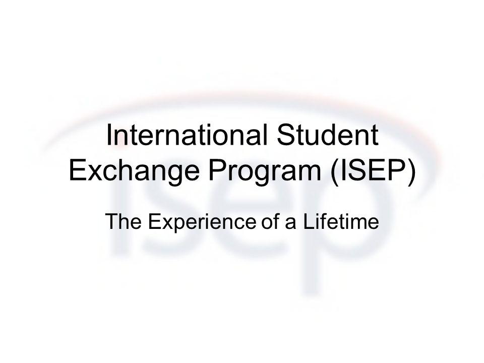 Was ist ISEP.Non-profit Austauschorganisation mit Sitz in Washington, D.C.