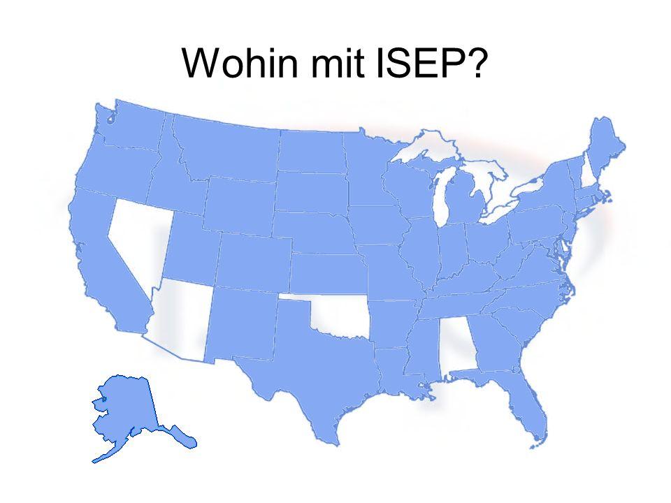 Wohin mit ISEP?