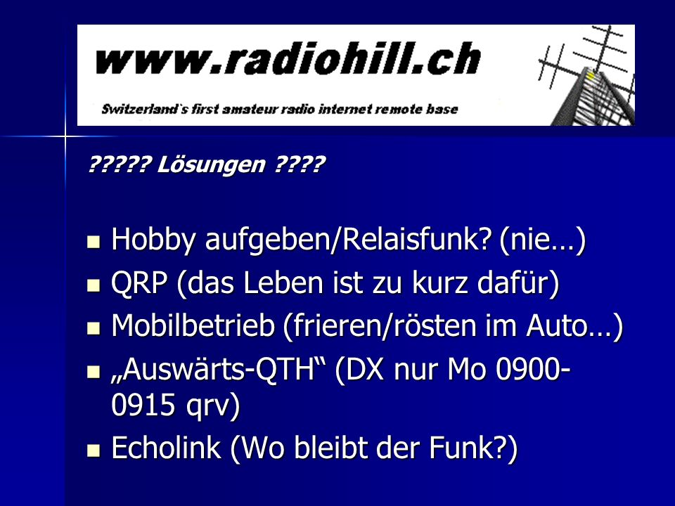 Kontaktadresse für Abos/weitere Standorte/Fragen: Markus Schleutermann Büelstr.