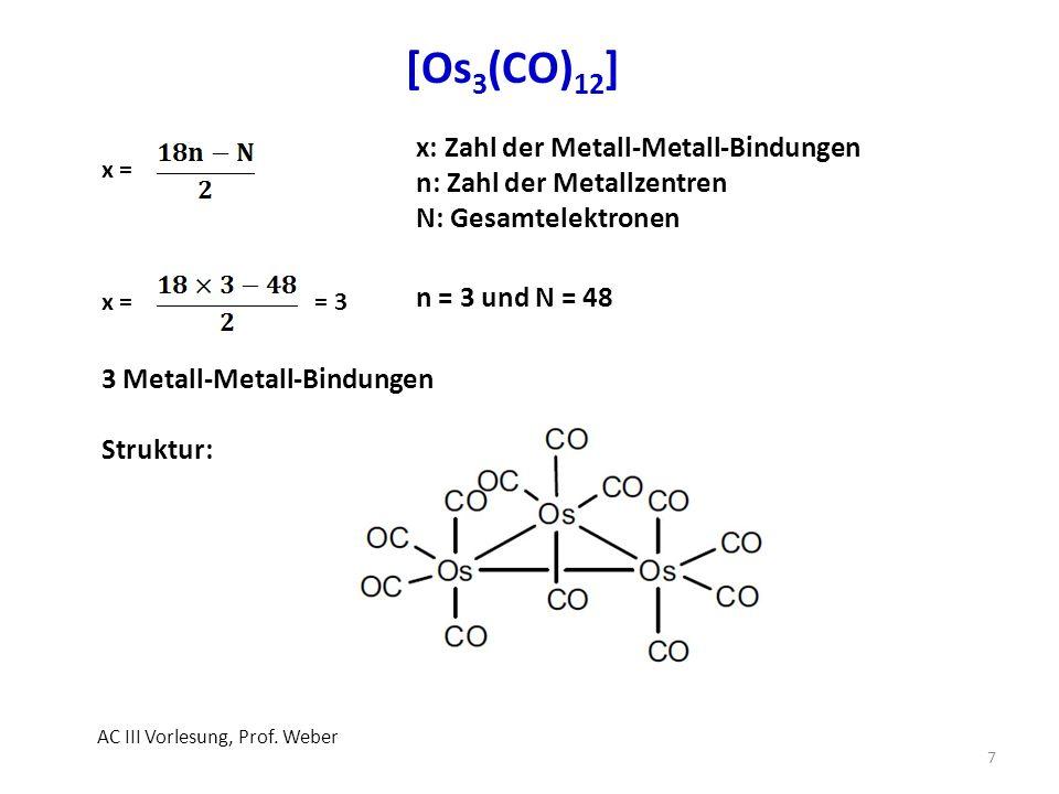 Anwendungen Riedel, Moderne Anorganische Chemie, 4.
