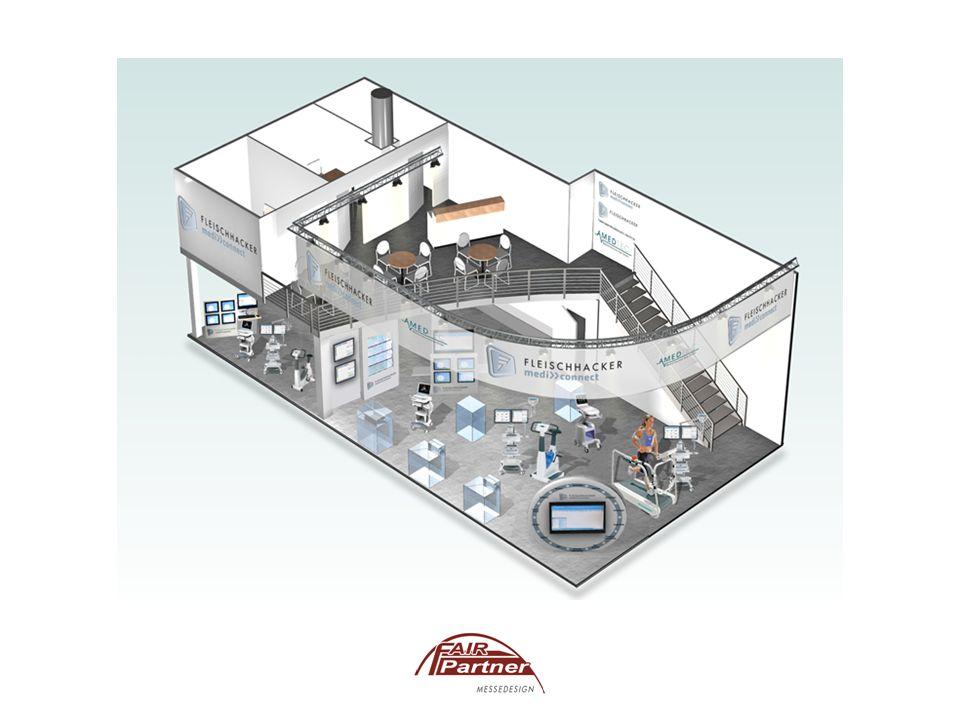 Das ganze Spektrum einer gekonnten Inszenierung in Form von computerunterstützten 3D-Darstellungen