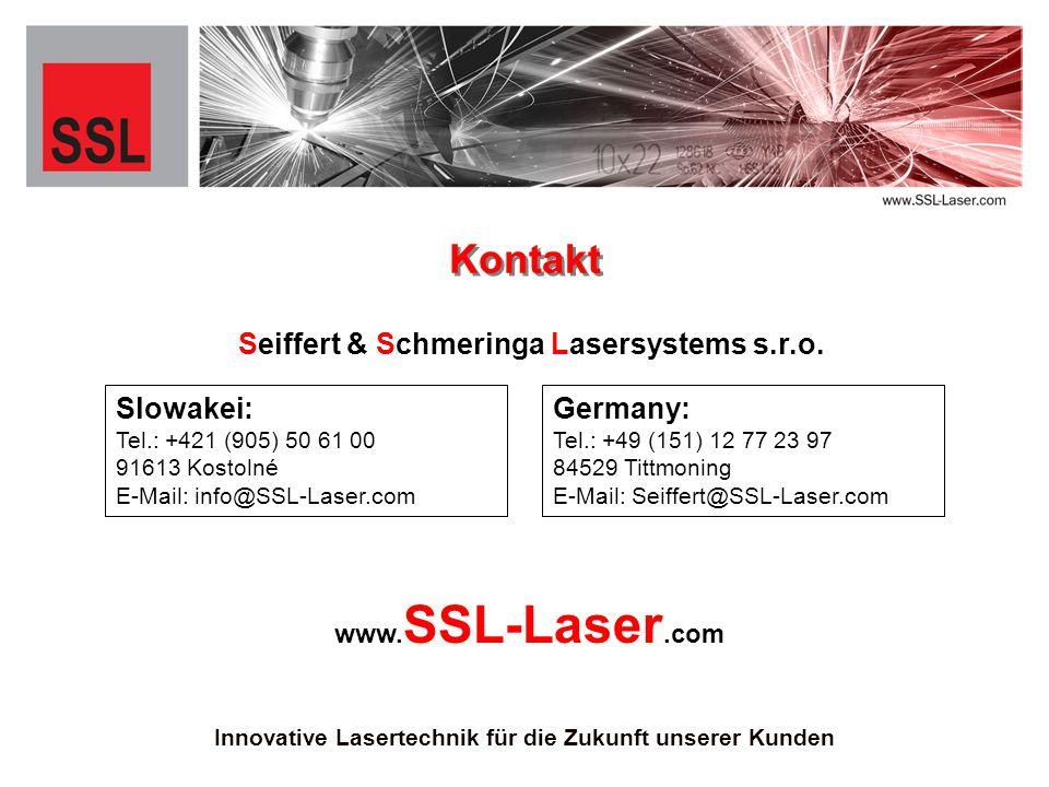 Seiffert & Schmeringa Lasersystems s.r.o.