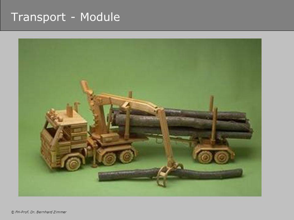 © FH-Prof. Dr. Bernhard Zimmer Transport - Module