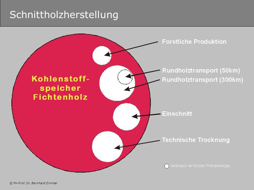 © FH-Prof. Dr. Bernhard Zimmer Schnittholzherstellung
