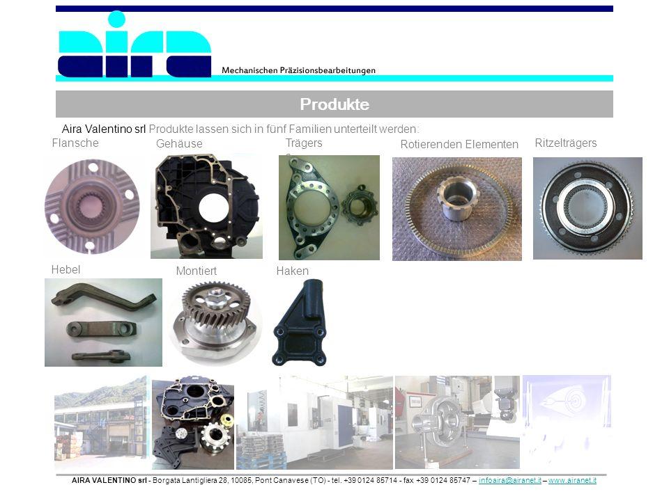 Produkte AIRA VALENTINO srl - Borgata Lantigliera 28, 10085, Pont Canavese (TO) - tel. +39 0124 85714 - fax +39 0124 85747 – infoaira@airanet.it – www