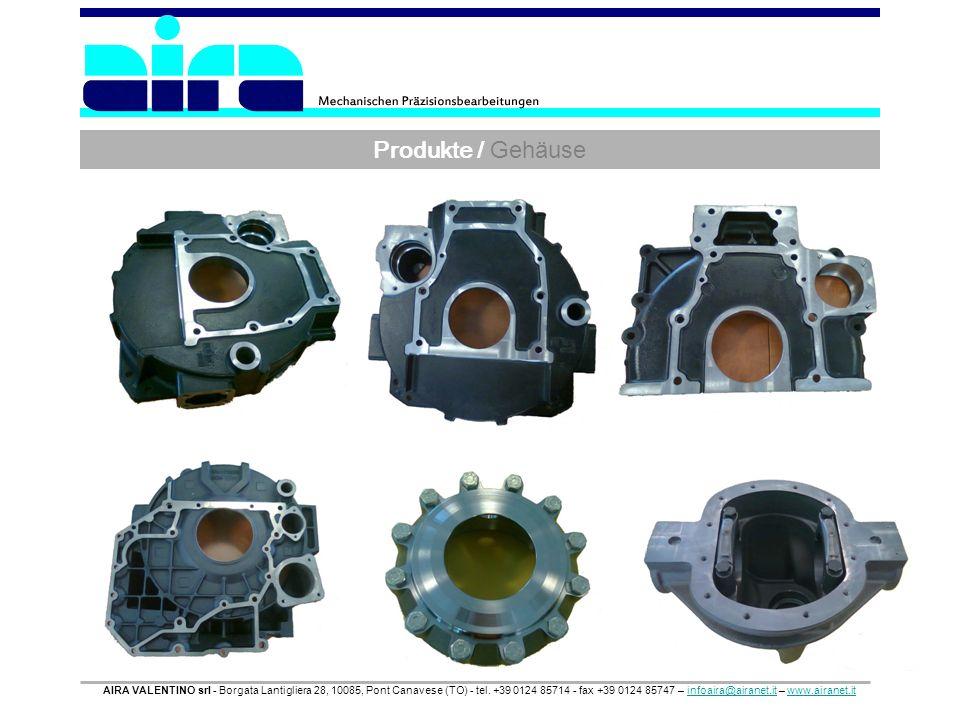 Produkte / Gehäuse AIRA VALENTINO srl - Borgata Lantigliera 28, 10085, Pont Canavese (TO) - tel. +39 0124 85714 - fax +39 0124 85747 – infoaira@airane