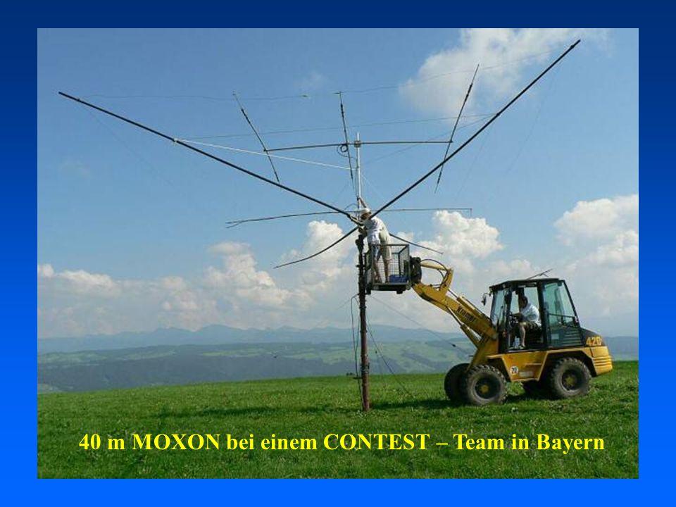 40 m MOXON bei einem CONTEST – Team in Bayern