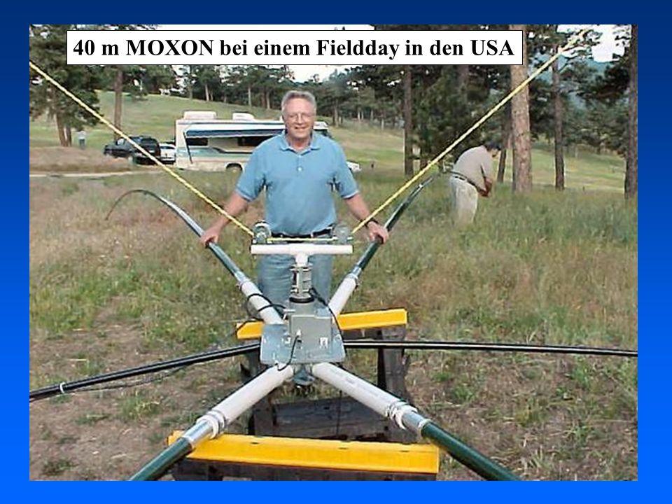40 m MOXON bei einem Fieldday in den USA