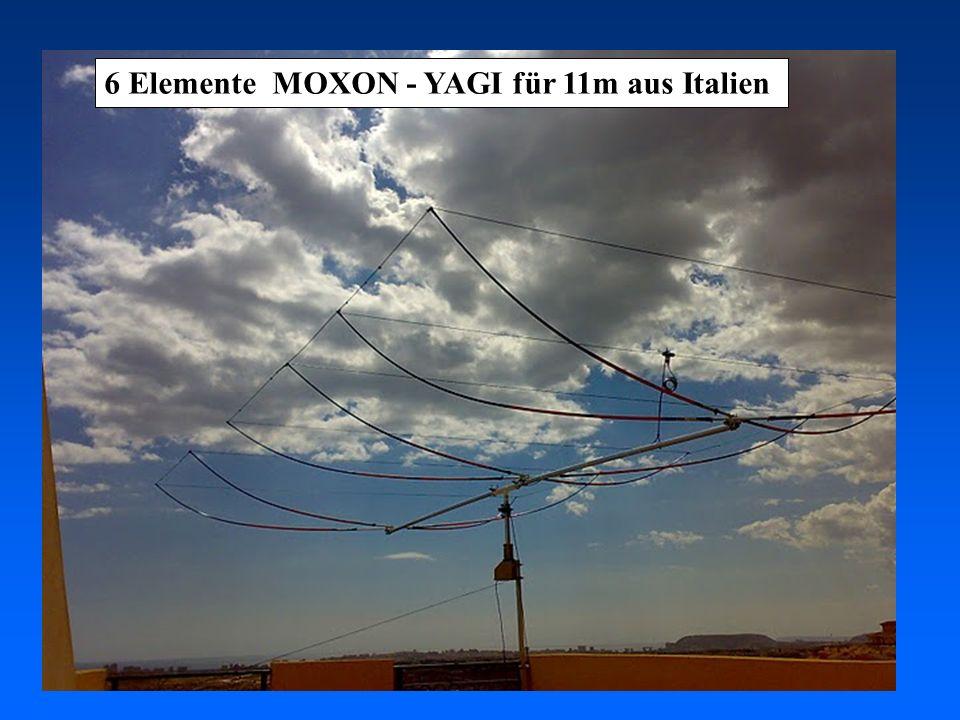 6 Elemente MOXON - YAGI für 11m aus Italien