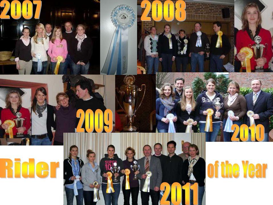 Die größten Erfolge der vergangenen fünf Jahre PM-Schulpferdecup 2 x Gesamtsieger, dreimal das Finale erreicht Kreis- Vierkampf: 3 Siege mit den RVN-A