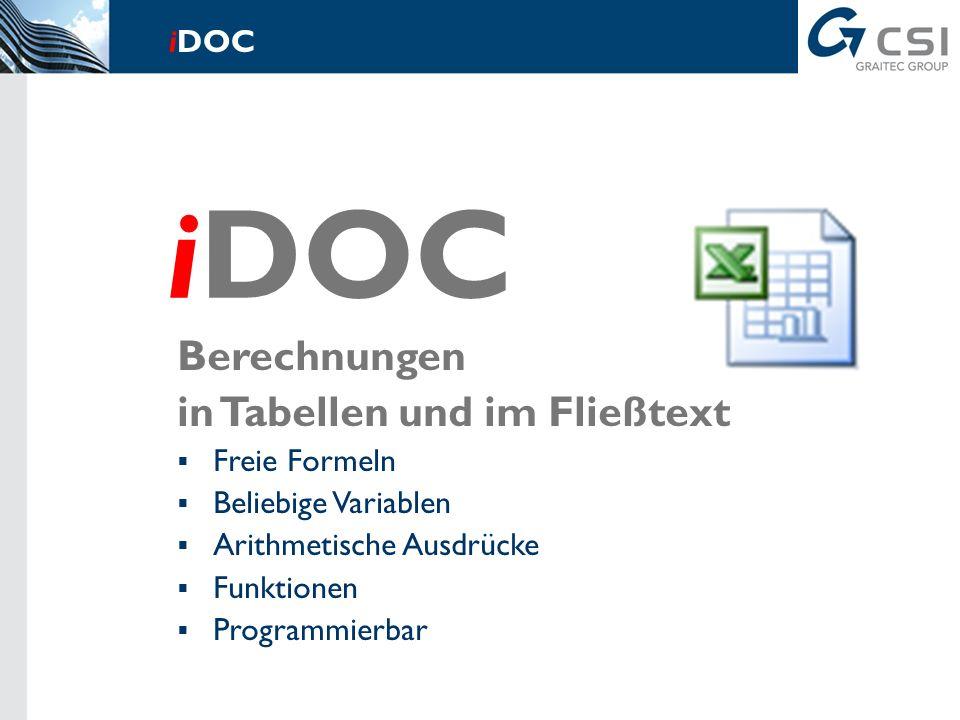 Skizzenerstellung Integrierte Grundfunktionen Übernahme aus beliebigen Programmen Zeichnungsmakros Zeichnungsbibliotheken iDOC