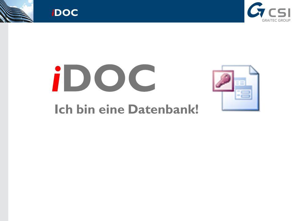 Das intelligente Dokument für Tragwerksplaner! iDOC